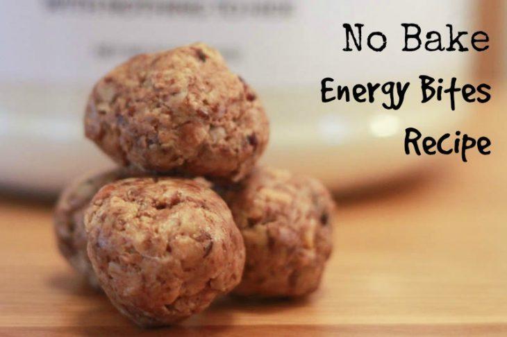 Easy To Make Energy Bites Recipe