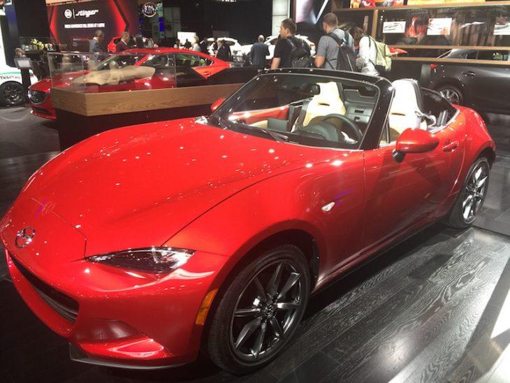 Auto Show Mazda Miata
