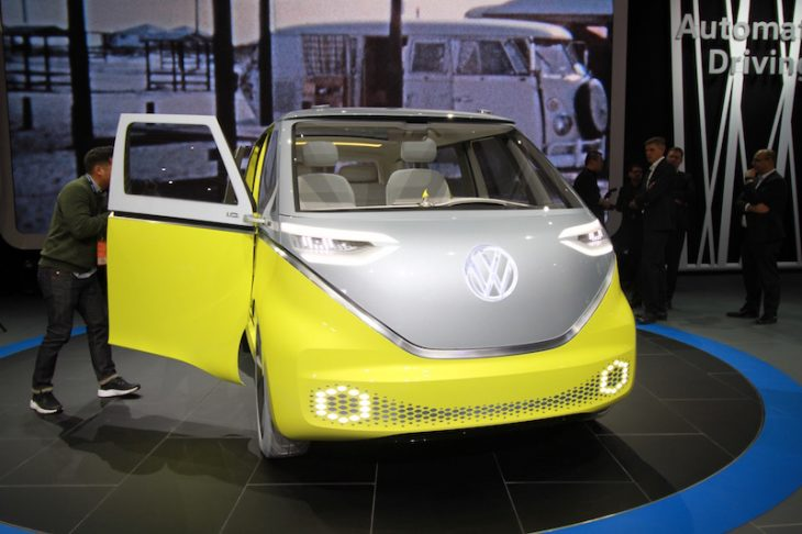 North American International Auto Show Volkswagen I.D. Buzz
