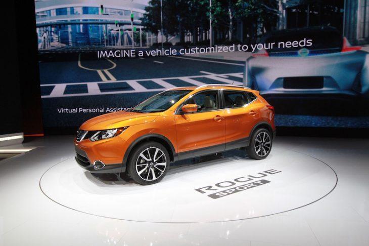 Auto Show Nissan Rogue