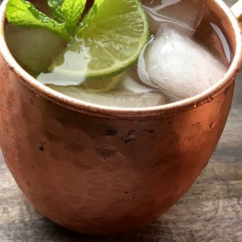 Classic Moscow Mule with Fresh Ginger Simple Syrup Recipe