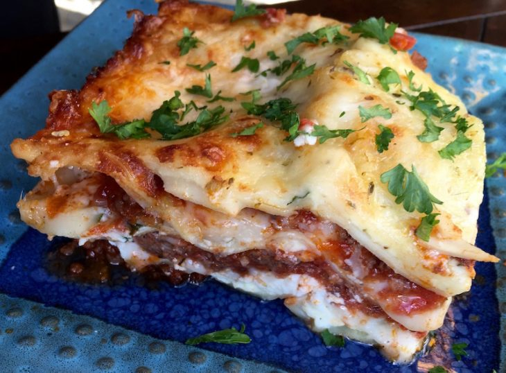 easy five cheese lasagna recipe
