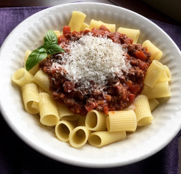 Chunky Italian Meat Sauce Recipe