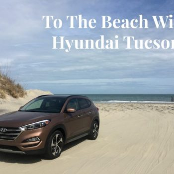 To The Beach With Hyundai Tucson