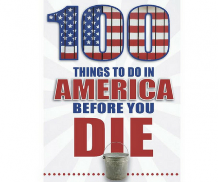 100 things to do in america before you die book review just short of crazy. Black Bedroom Furniture Sets. Home Design Ideas