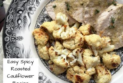 Easy Spicy Roasted Cauliflower Recipe