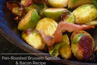 pan roasted brussels sprouts bacon recipe i know brussels sprouts get ...