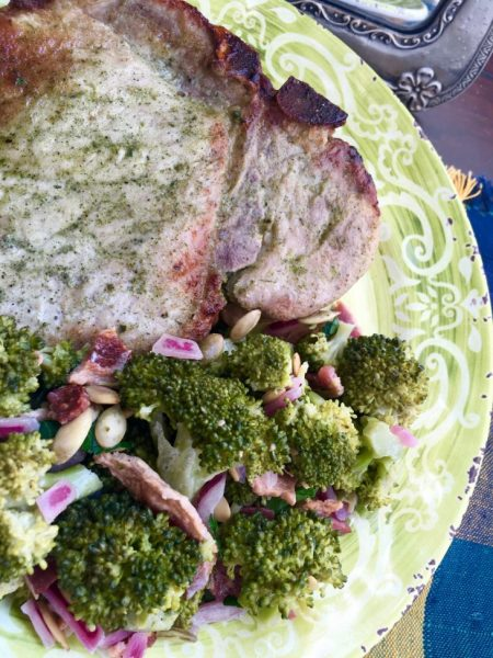 Ranch-Rubbed Roasted Pork Chops Recipe