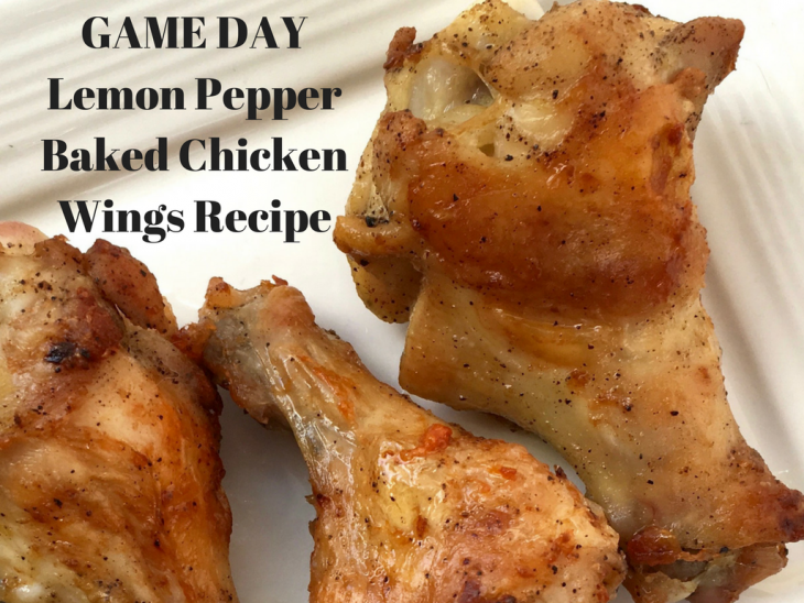 Lemon Pepper Baked Chicken Wings Recipe