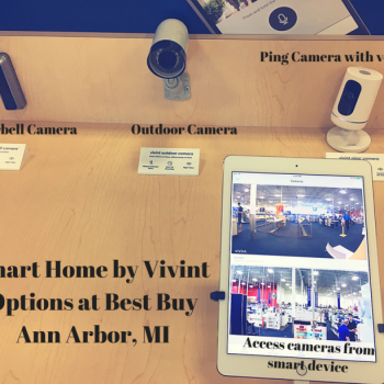 Smart Home by Vivint Options at Best BuyAnn Arbor, MI