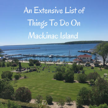 Things to do on Mackinac Island Title