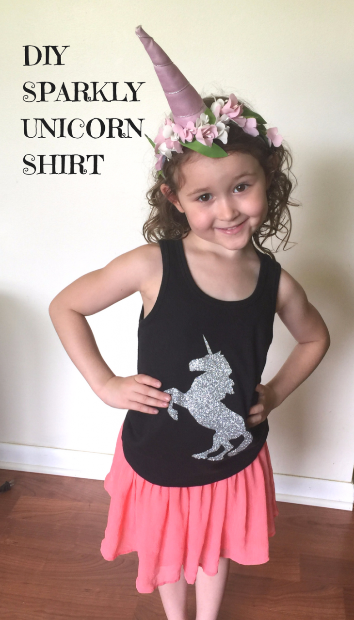DIY Unicorn Shirt