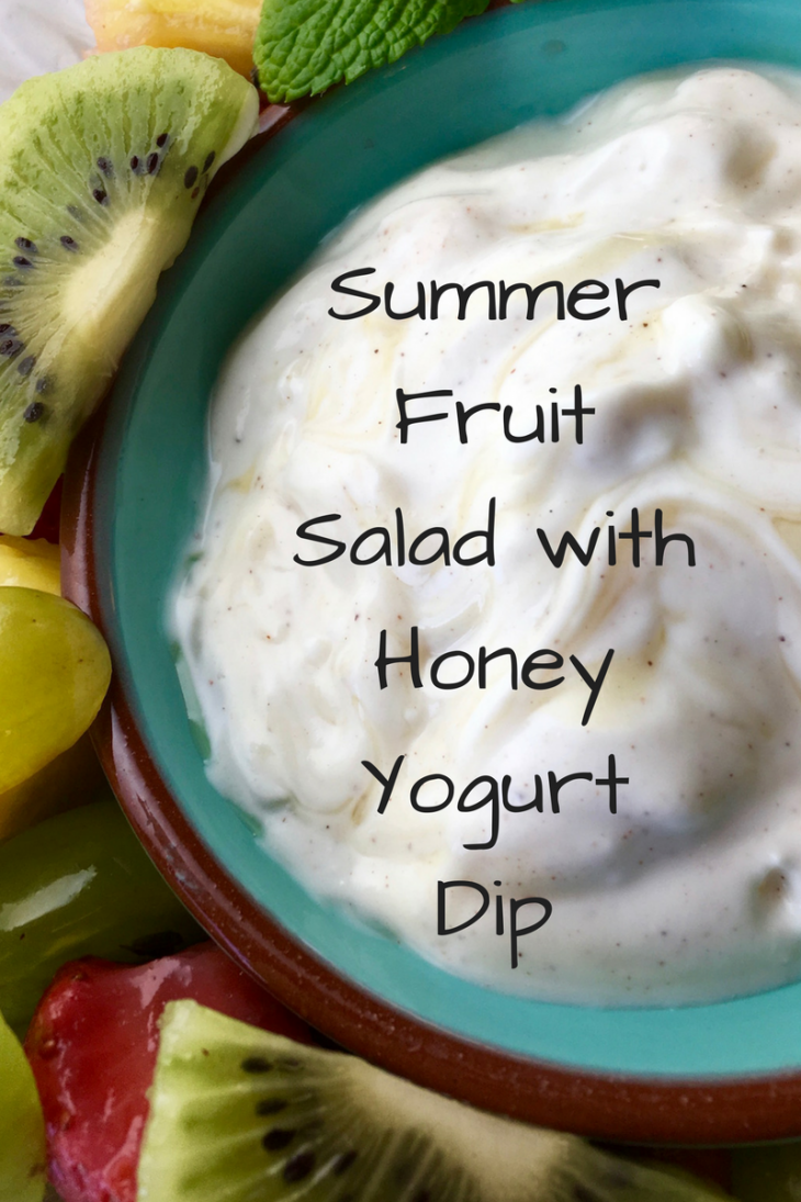 Fruit Salad with Honey Yogurt Dip (1)
