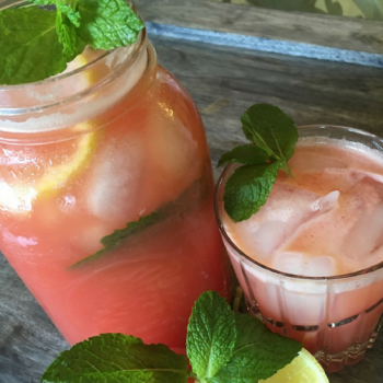 Enjoy This Refreshing Watermelon Mint Lemonade Recipe