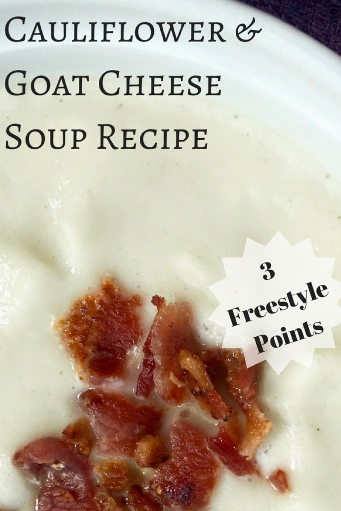 3 freestyle points Cauliflower soup