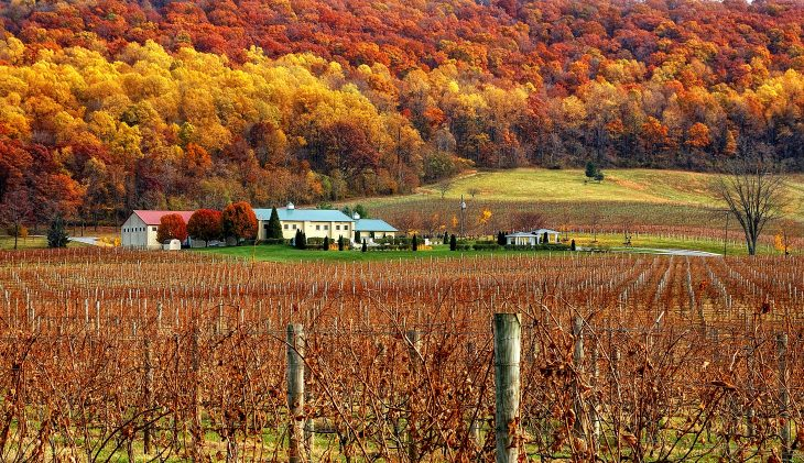Fall Color Tour Across The Mid-Atlantic States