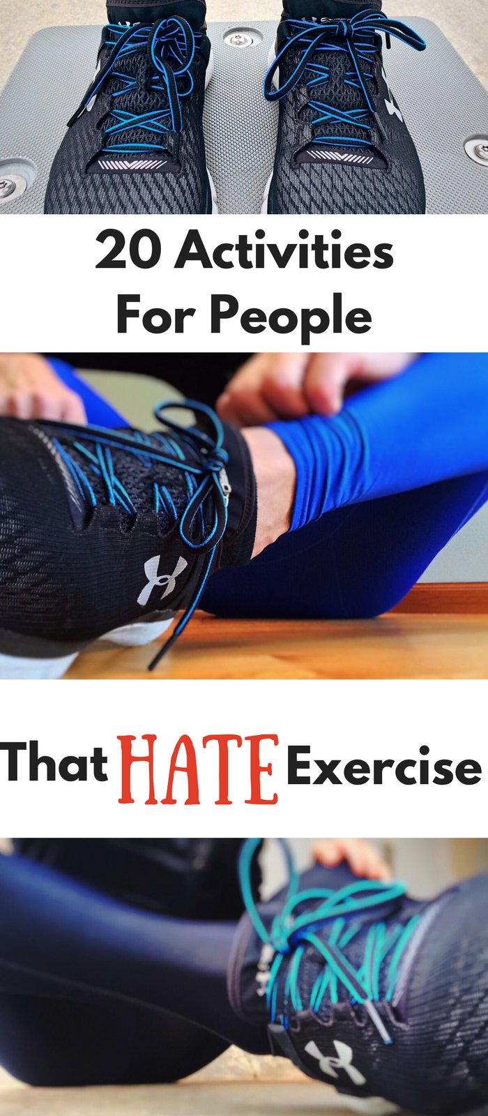 20 Activities for People That HATE Exercise