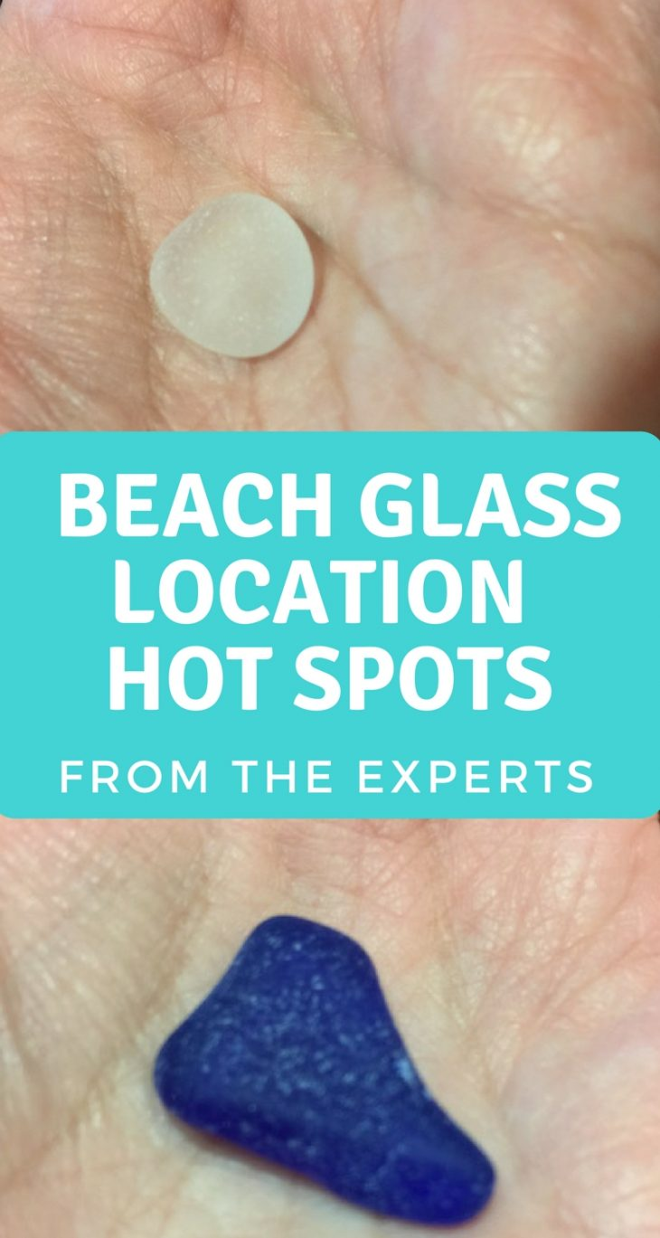 Beach Glass Hot Spots Erie PA
