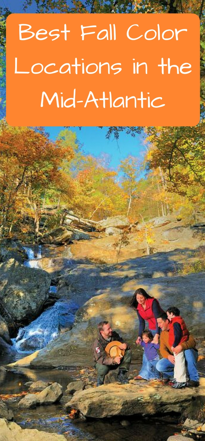 Best Fall Color Locations in the Mid-Atlantic