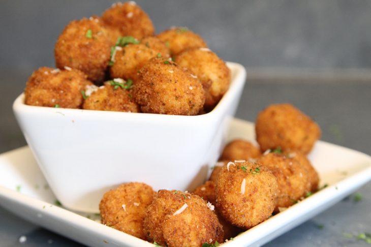 Butternut Squash Risotto Balls Recipe - Just Short of Crazy