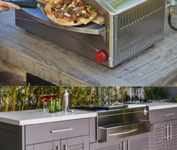 Grill-themed Outdoor Kitchen Design