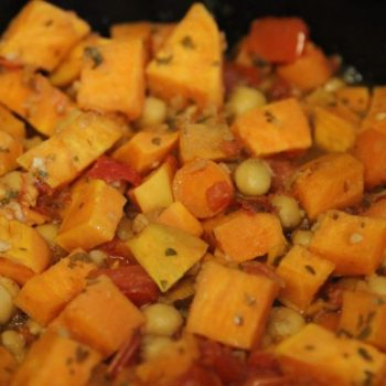 Sweet Potato & Chick Pea Hash