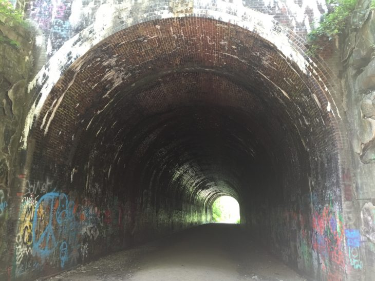 moonville tunnel hocking hills oh