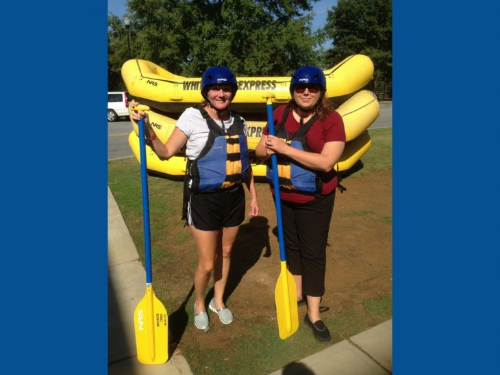 White Water Rafting for Wimps; a True Tale