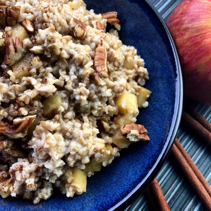 Slow Cooker Apple-Cinnamon Oats Recipe