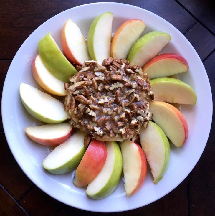 Salted-Caramel Apple Dip Appetizer