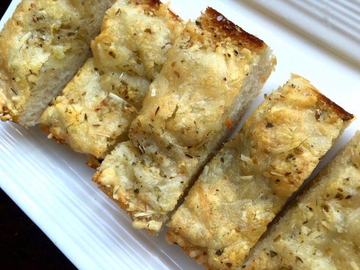 Easy, Cheesy Garlic Bread Recipe