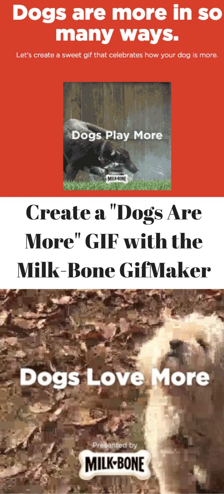 dogs are more milk-bone