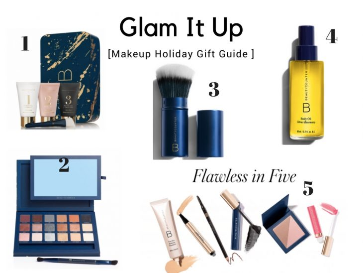Glam it up makeup holiday gift guide