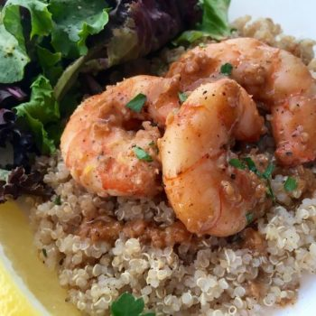 Lemon Garlic Jumbo Shrimp