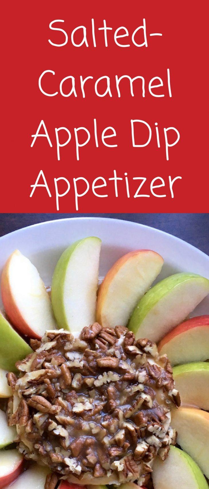 Salted-Caramel Apple Dip Appetizer