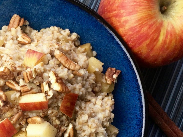 Slow Cooker Apple Cinnamon Oats Recipe