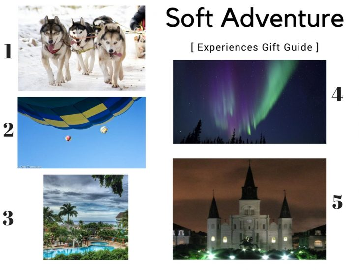 Soft Adventure Experiences Gift Guide
