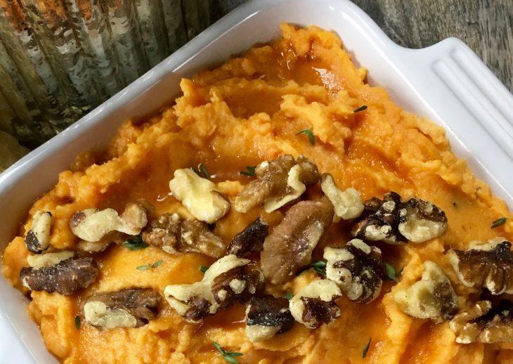Creamy Mashed Sweet Potatoes Recipe