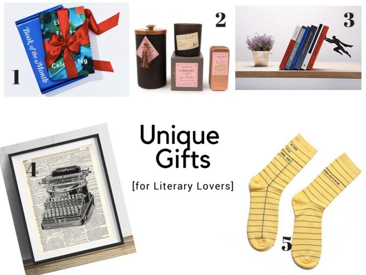 Unique Gifts Literary Lovers