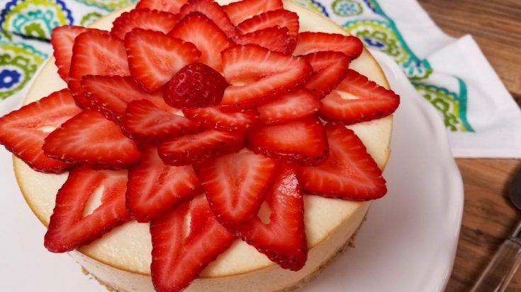 Instant Pot Cheesecake | Healthier Cheesecake Recipe