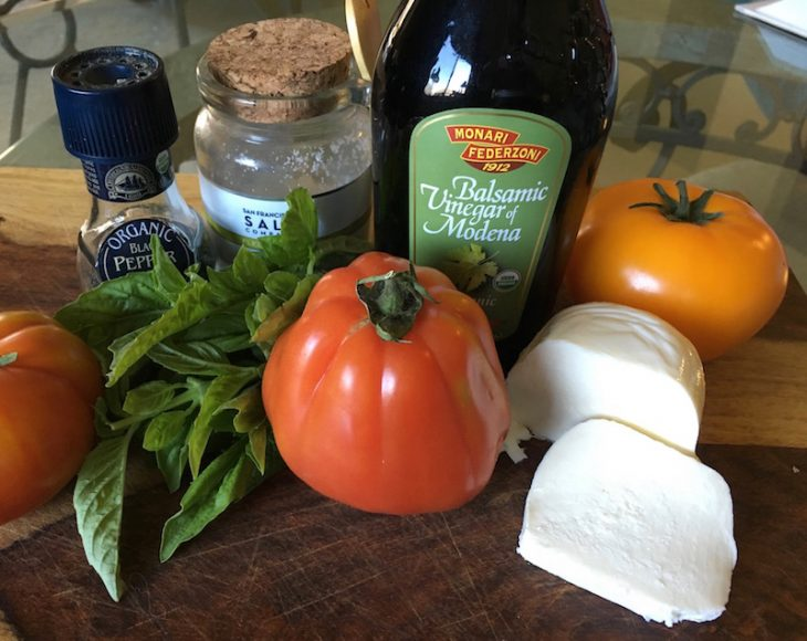 This simple recipe will showcase how to make a caprese salad in no time at all