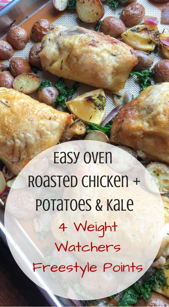 Easy Oven Roasted Chicken 4 weight watchers freestyle points