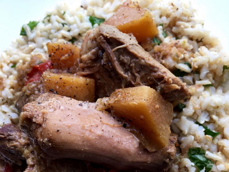 Spicy Pineapple Pork Roast Recipe
