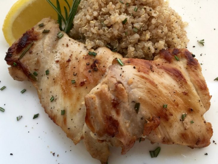 Rosemary Lemon Boneless Chicken Recipes