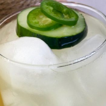 This Jalapeno Cucumber Lemonade Is Perfect For Hot Summer Days