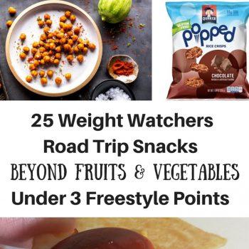 25 Weight Watchers Road Trip Snacks Beyond Fruits & Vegetables