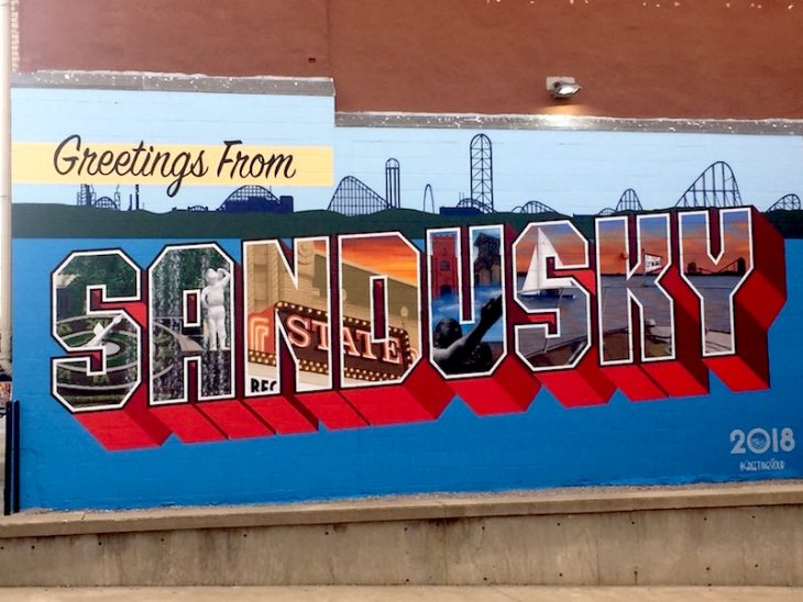 Sandusky Greetings Wall Mural
