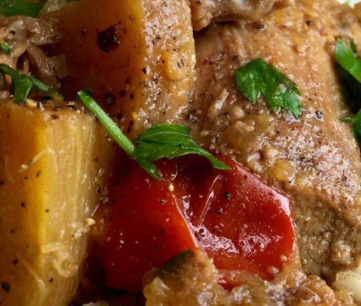 Spicy Pineapple Pork Roast Recipe