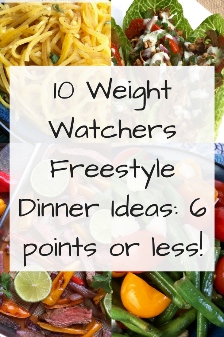 10 Weight Watchers Freestyle Dinner Ideas: 6 points or less! - Just ...