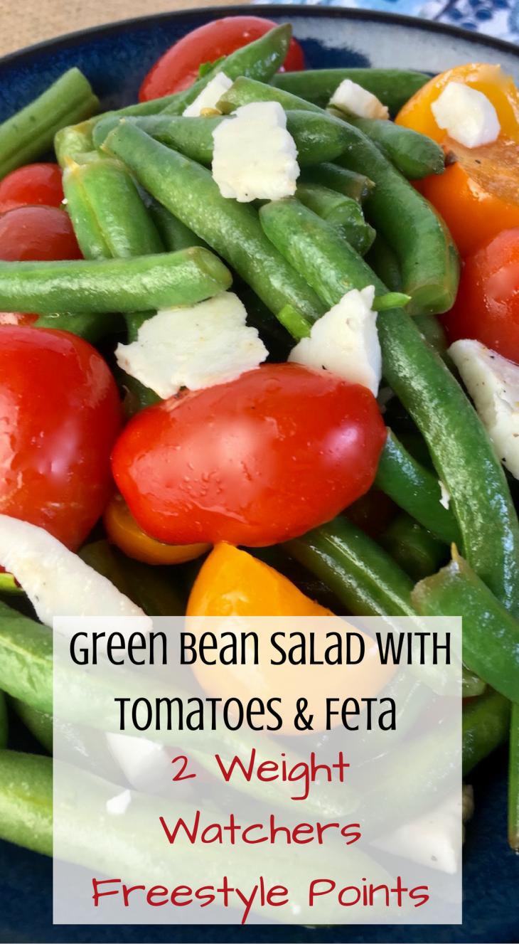 Green Bean Salad with Tomatoes & Feta Recipe - Just Short ...